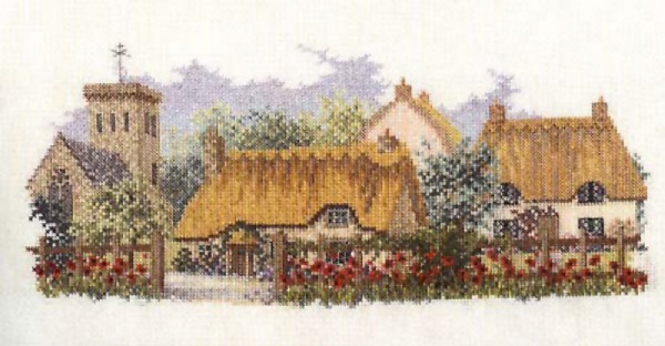 Poppyfield Lane Cross Stitch Kit